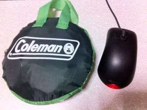 Coleman ハンギングドライネット(収納状態)