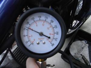 我が家のプレスカブ測定値(エンジンはノーメンテ)