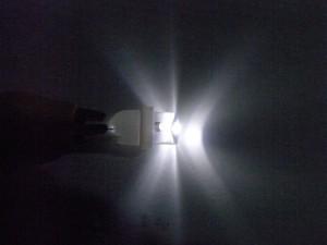T10 LEDバルブ光り方