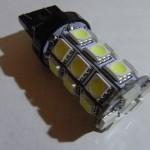 T20 LEDバルブ(5050 27 smd Wedge)のレビュー