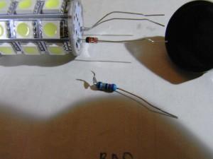 T20 LEDバルブ(5050 27 smd Wedge) 破損してしまいました