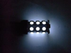 T20 LEDバルブ(5050 27 smd Wedge) 光り方