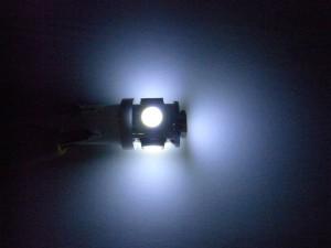 T10 LEDバルブ(Model number:#Z422C)光り方
