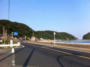 国道178号線(鳥取方面へ移動中)