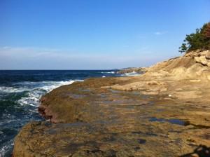 櫛島キャンプ場の海側