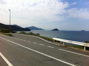 道中の風景
