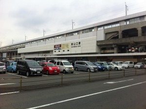 新山口駅に到着
