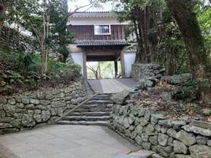 平戸城敷地内を歩く(その1)