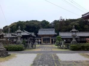 亀岡神社(敷地内or敷地横?にあった神社)