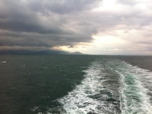 熊本から島原へフェリーで渡る