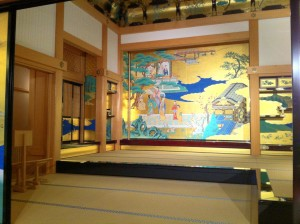 熊本城の屏風