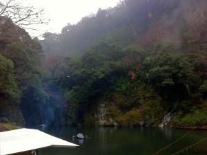 高千穂峡の貸しボート