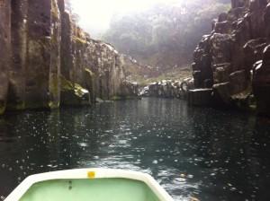 貸しボートからの風景