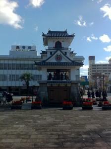 人吉駅前からくり時計