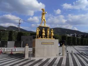 原爆資料館を観光