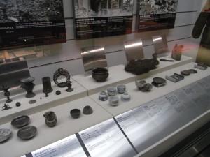 原爆資料館の展示物