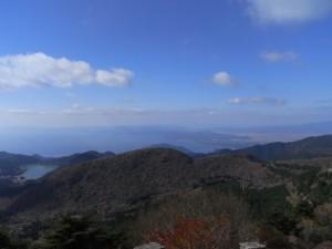 仁田峠からの眺め