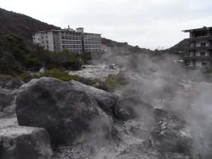 地獄横の旅館/ホテル