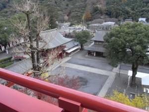 祐徳稲荷神社(上からの眺め)