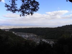 祐徳稲荷神社(奥の院からの眺め)