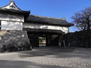 佐賀城跡で観光&休憩