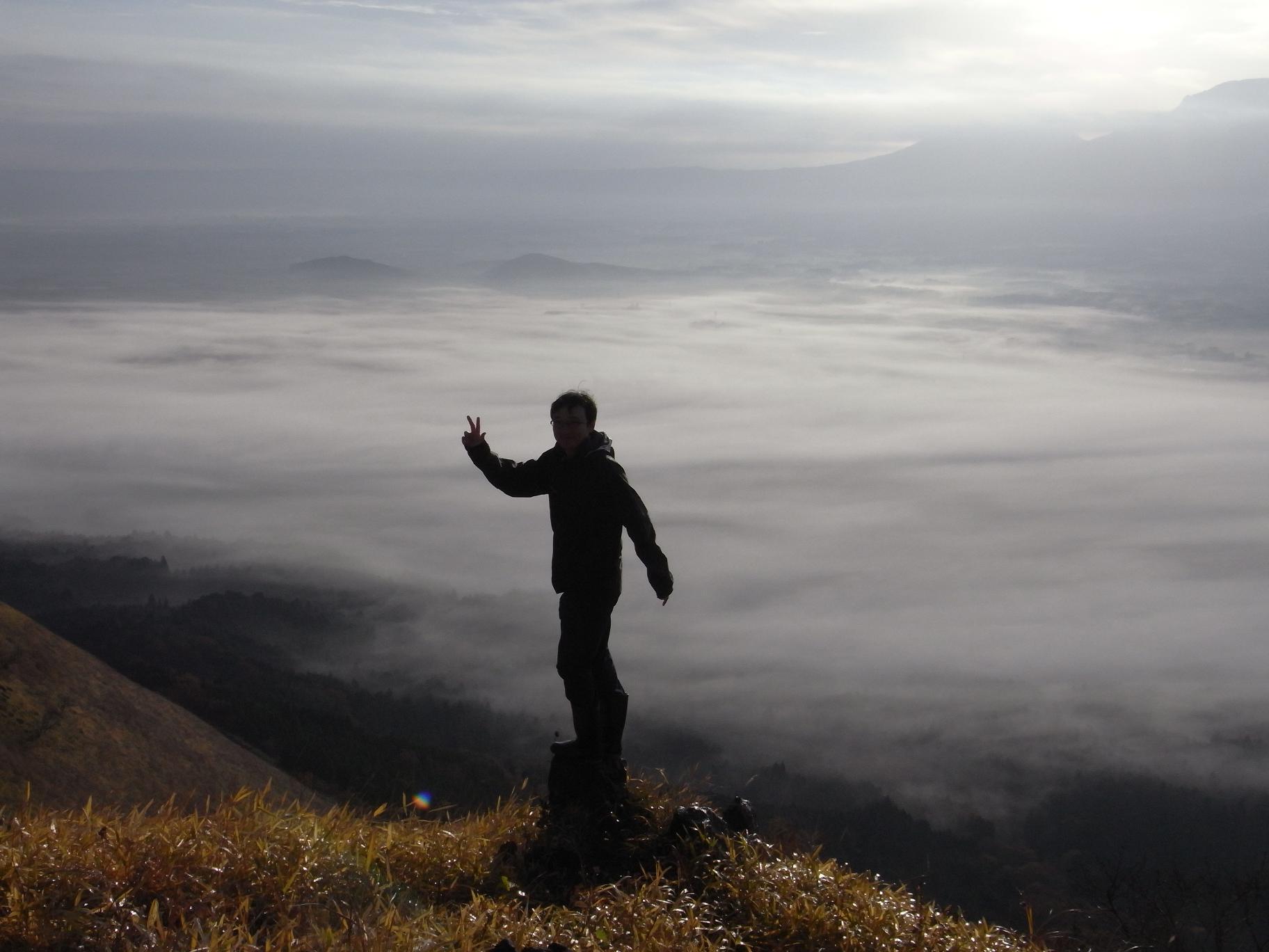 [自転車旅行] 2012/11/30:熊本県阿蘇市 滞在(阿蘇ライダーハウス)