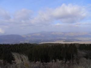 阿蘇パノラマラインからの眺め(その1)