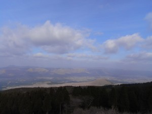 阿蘇パノラマラインからの眺め(その2)