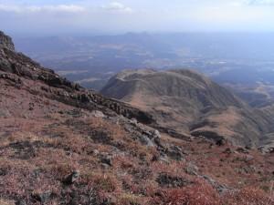登山道からの眺め