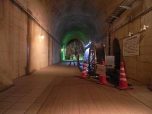 トンネルの最奥