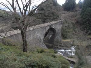 通潤橋(上からの眺め)
