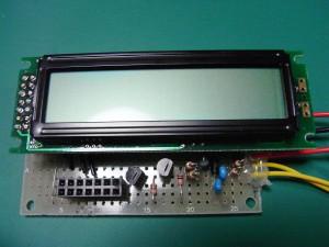 タコメータ基板(LCD装着)