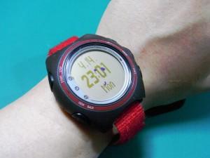 SUUNTO t6c自作ベルト 腕時計風味
