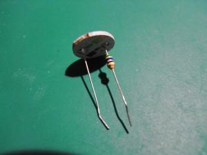 LEDバルブの分解写真