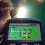 LEDバルブの照度を計測してみる