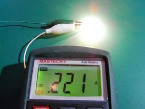 STANLEY 12v1.7wの電流値