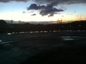 丸岡公園にて(翌朝)