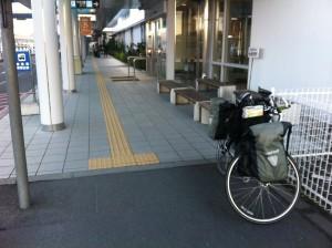 鹿児島空港にて(到着!)