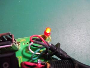 電源LEDを追加
