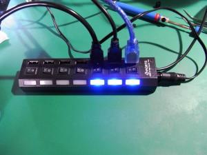 USBハブ(ちょこっと手直しバージョン)