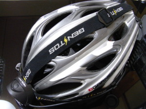 Delta Peakをヘルメットにつける
