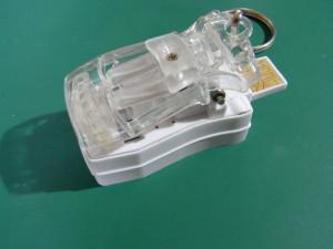 バッテリ充電器(クリップでバッテリを挟む)