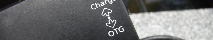 [レビュー] スマートフォン/タブレット用OTG USB-HUB