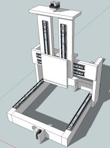 WolfStrapの外観モデル(sketchupで表示したもののスクリーンショット)