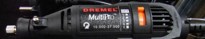 [レビュー] 海外製格安リューター Dremel multipro(のバッタもの?)