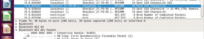 RFCOMMサーバを構築して通信内容をモニタする方法