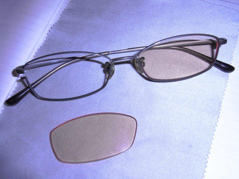 眼鏡のネジがとれてしまった