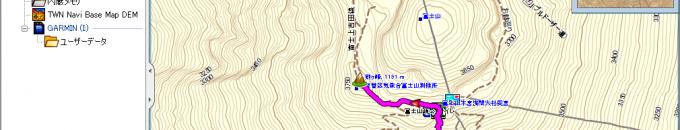 [地図自作] 基盤地図情報(数値標高モデル)を使って等高線入り地図を作成する方法