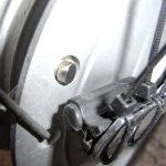 [カブ] サイクリングコンピュータのセンサーブラケット自作