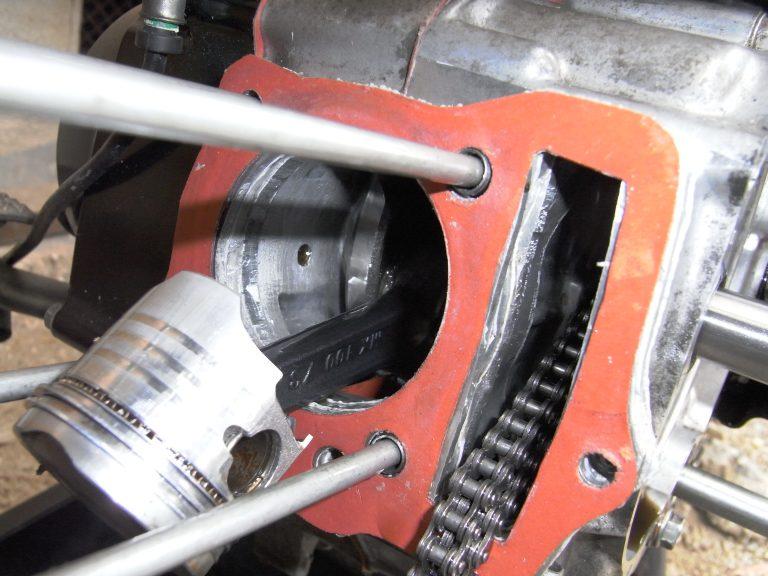 [カブ] FIカブ50のカブ90クランク流用による排気量アップに挑戦(その4)